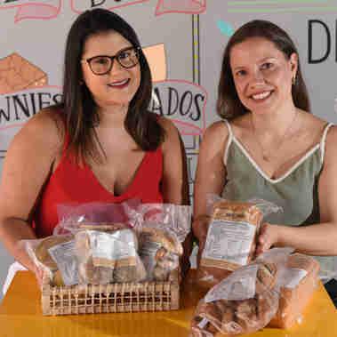 Data: 18/02/2020 - ES - Vitória - Livia Manato e Mariella Caliman, nutrucionistas e sócoas da Artezanal - Editoria: Economia - Foto: Ricardo Medeiros - GZ