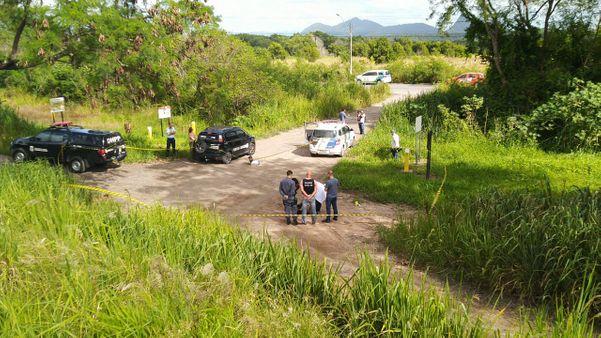 Corpo de mulher é encontrado perto da Rodovia do Contorno, na Serra. Crédito: Caíque Verli