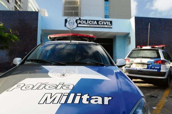 Delegacia Regional da Serra, para onde o suspeito foi levado. Crédito: Beto Morais/Arquivo-GZ