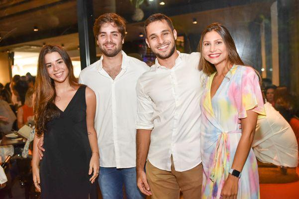 Maria Antônia Fonseca, Rafael Richa, Lucas Richa e Natália Rody: em novo. Crédito: Monica Zorzanelli