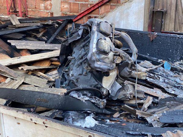 Um problema relacionado ao combustível pode ter provocado a queda do monomotor em Guarapari. Crédito: Ascom | CBES