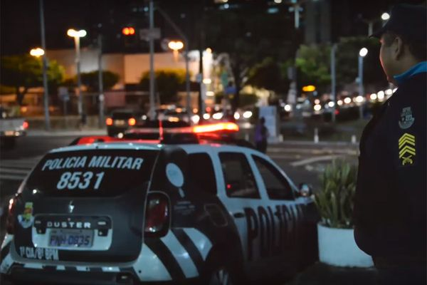 Policiais militares fazem manifestação no Ceará. Crédito: Reprodução
