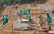 Obras de contenção na rodovia ES 375, em Rio Novo do Sul. Crédito: Divulgação/DER