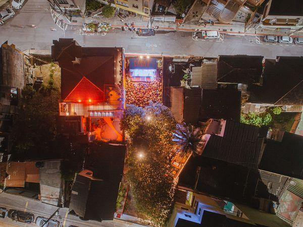 A Casa7, no Centro de Vitória. Crédito: Ciro Trigo