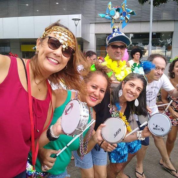 O Bloco Maluco Beleza, que presta homenagem a Raul Seixas, estreia no carnaval de Vitória. Crédito: Reprodução/ Instagram