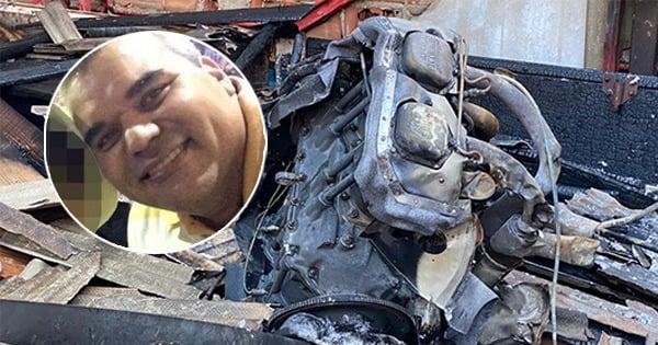 O piloto Luciano Ferreira de Souza morreu após ser socorrido em estado grave. Crédito: Montagem | A Gazeta