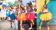 Carnaval com chuva? Veja ideias de looks para curtir os bloquinhos. Crédito: Reprodução