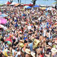 Banho de Mar à Fantasia de Manguinhos 2020