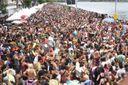 Bloco Regional da Nair animou os foliões neste domingo de Carnaval