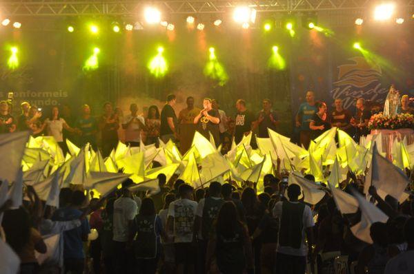 Vinde e Vede: retiro de carnaval acontece no Pavilhão de Carapina, na Serra. Crédito: Divulgação/Vinde e Vede