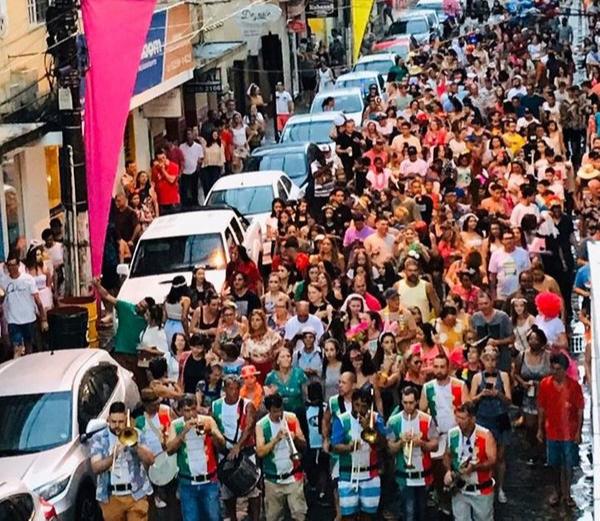 Carnaval de Marchinhas em Santa Teresa. Crédito: Prefeitura Municipal de Santa Teresa/Divulgação