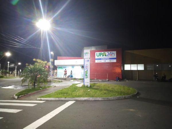 UPA de Carapina, na Serra, onde homem com sintomas de coronavírus deu entrada. Crédito: Siumara Gonçalves