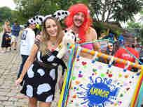 Carnaval no Quadrado de São Paulinho: Carol Dadalto e Alexandre Pedroni