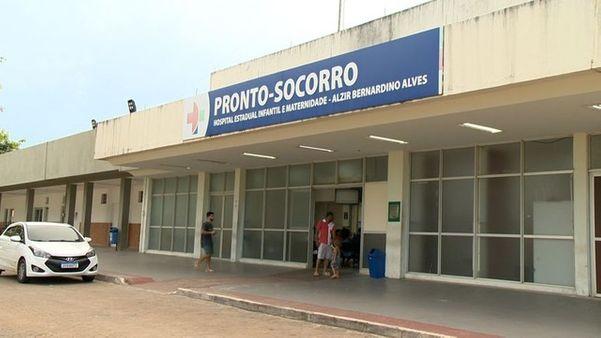 Criança foi internada após ser encontrada sozinha em casa, em Vila Velha. Crédito: Reprodução/ TV Gazeta