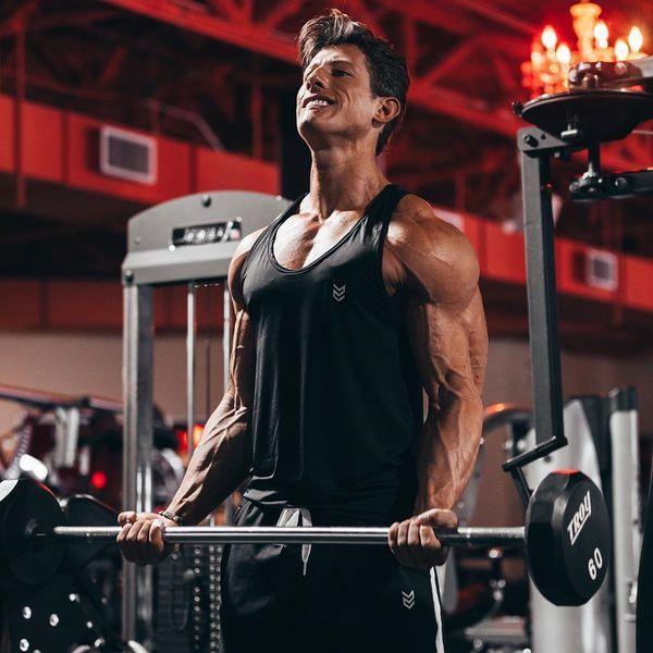 Italo Costa, atleta que é apontado como Ken Humano Fitness. Crédito: MF Press Global/Reprodução