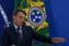 Jair Bolsonaro enviou vídeo convocando ato em defesa do seu governo. Crédito: Folhapress
