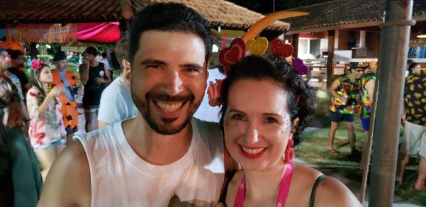 Rodolfo Feliz e Marina Monteiro. Crédito: Divulgação