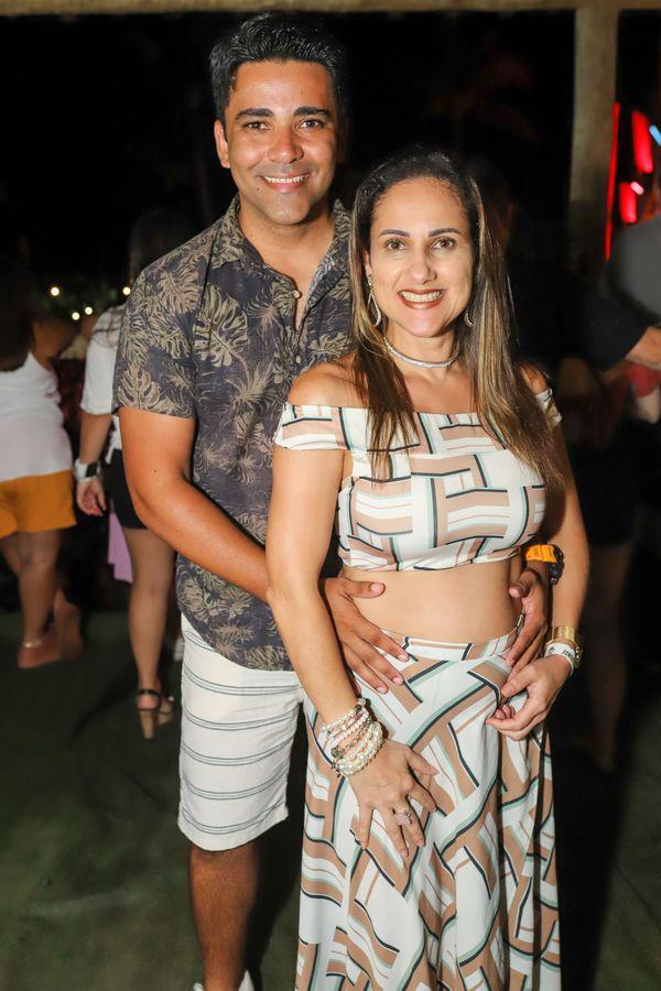Ramisses Rocha e Cida Alves. Crédito: Leo Gurgel