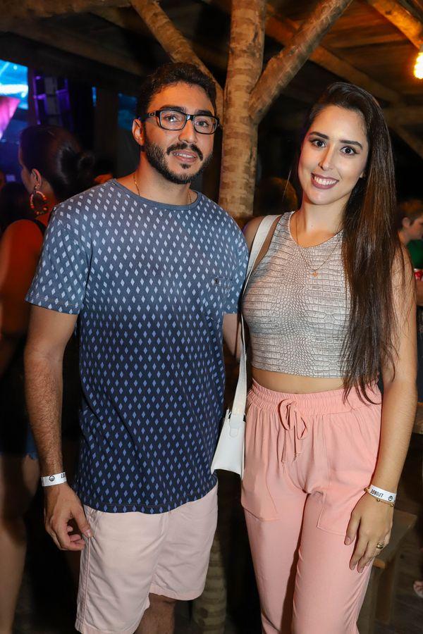 Vinícius Campos e Maria Eduarda Guimarães. Crédito: Leo Gurgel