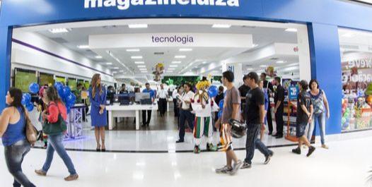 Loja do Magazine Luiza: rede deve vir para o Estado e operar quiosques em parceria com as Lojas Marisa. Crédito: Divulgação
