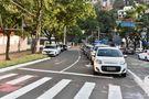 O antigo trecho da avenida passou a ser utilizado como estacionamento na região. Crédito: Fernando Madeira