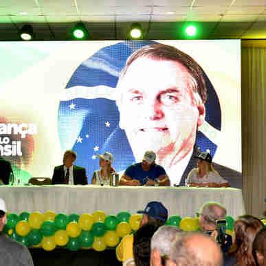 Data: 29/02/2020 - ES - Vitória - Encontro do Partido Aliança Pelo Brasil, no Centro de Convenções de Vitória - Editoria: Política - Foto: Fernando Madeira - GZ