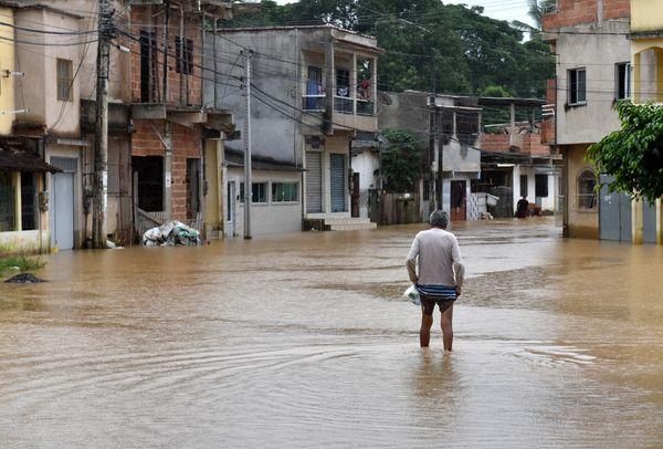 Bairro Vila Rica, em Viana, divisa com Cariacica-. Crédito: Fernando Madeira