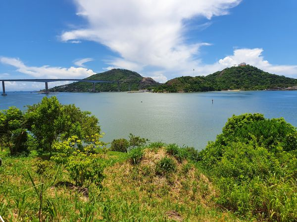 Mirante Projeto Tamar, Enseada do Suá, Vitória. Crédito: Fernanda Dalmácio