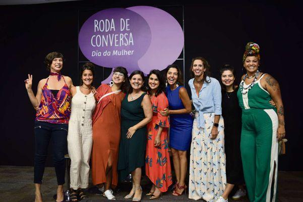 Na Roda de Conversa de 2018 a atriz Maria Paula participou como mediadora. Crédito: Adessandro Reis
