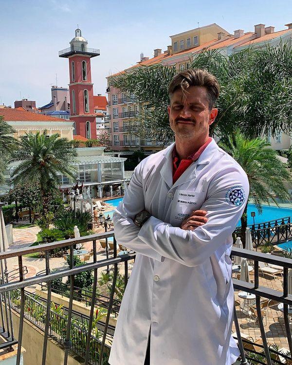 O ex-BBB e cirurgião plástico Marcos Harter. Crédito: Reprodução/Instagram @drmarcosharter