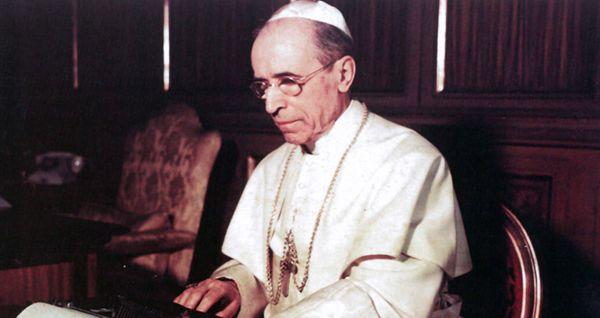 O papa Pio XII. Crédito: Reprodução / Vatican News