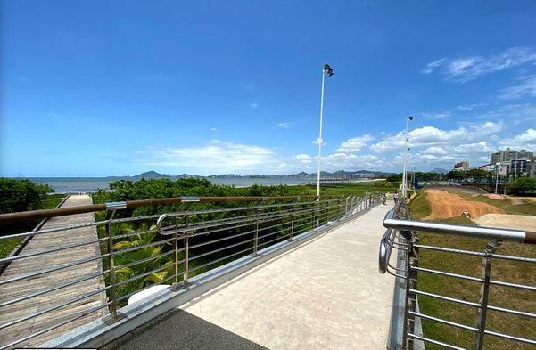 Atlântica Parque, localizado em Jardim Camburi, Vitória. Crédito: Parque Atlântica