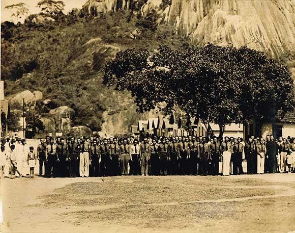 Integralistas se reúnem em Vitória, durante o primeiro congresso do movimento, em 1934