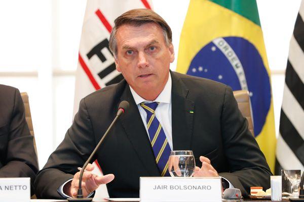 Jair Bolsonaro. Crédito: Alan Santos/PR