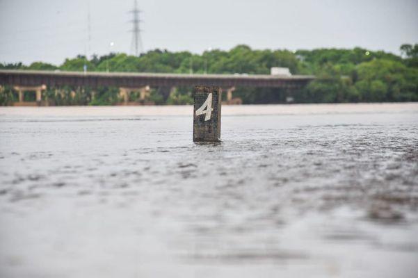 Rio Doce ultrapassa os 4 metros em Linhares. Crédito: Prefeitura Municipal de Linhares/Divulgação