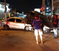 Colisão entre dois carros na Avenida Carlos Lindenberg. Crédito: Tiago Félix