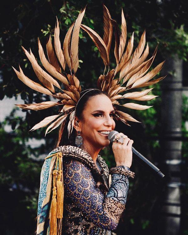 A cantora Ivete Sangalo. Crédito: Rafa Mattei