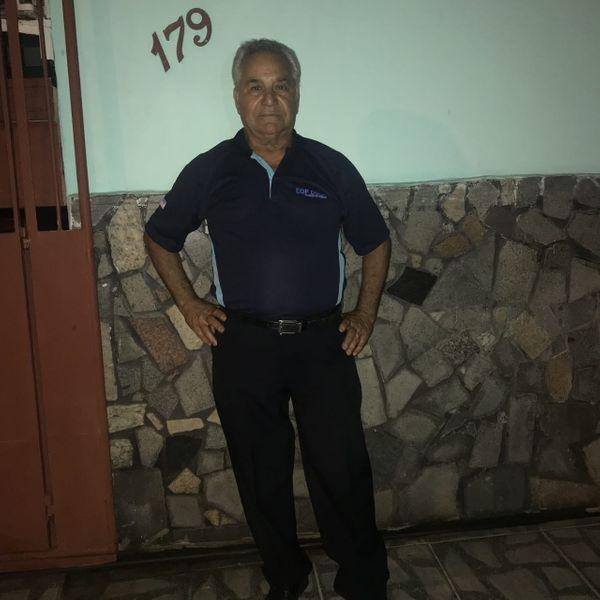 José Custódio Filho, de 68 anos, morreu atropelado pelo próprio ônibus em Vila Velha. Crédito: Aquivo Pessoal