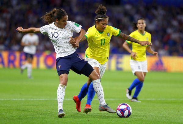 Seleção feminina: Brasil x França. Crédito: FIFA/Getty Image