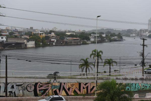 Tarde de sábado chuvosa na capital capixaba . Crédito: Ricardo Medeiros