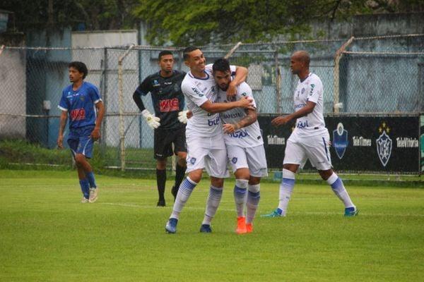 Vitória-ES goleia o Linhares . Crédito: Vitor Nicchio/Vitória-ES