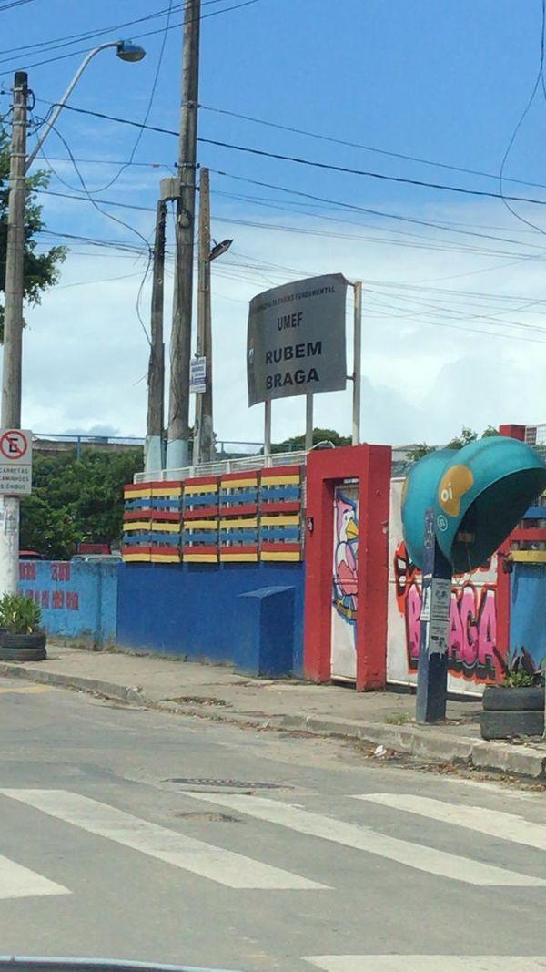 Aulas do período da tarde foram suspensas em escolas do bairro Boa Vista. Crédito: Leandro Tedesco