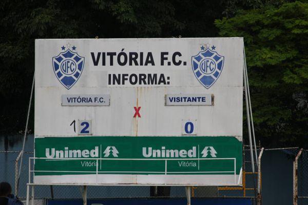 O Vitória atropelou o Linhares em duelo do Capixabão. Crédito: Vitor Nicchio/Vitória