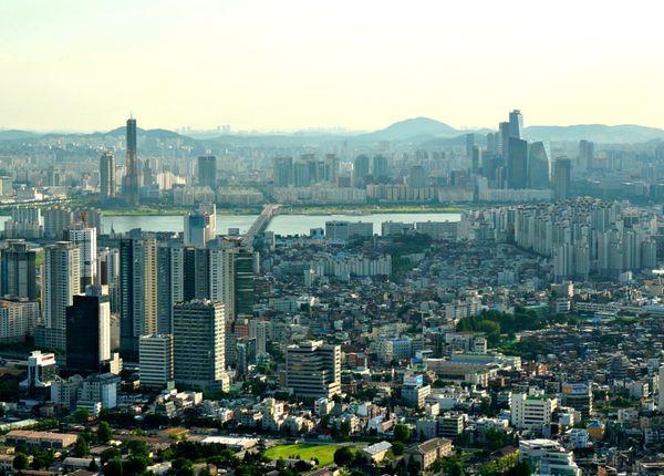 Seul, capital da Coreia do Sul. Crédito: Reprodução