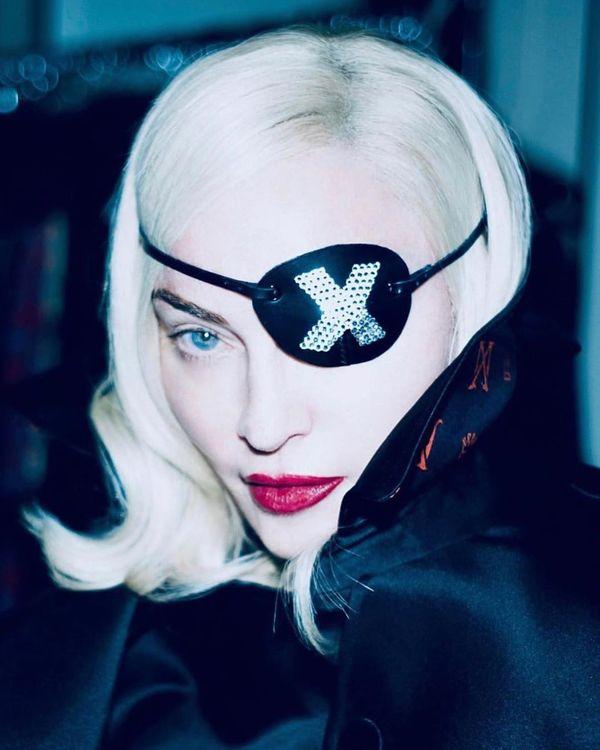 A cantora Madonna. Crédito: Reprodução/Instagram @madonna