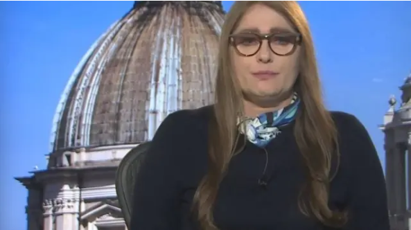 Ilze Scamparini se emociona ao falar sobre casos de coronavírus na Europa . Crédito: Reprodução/ TV Globo