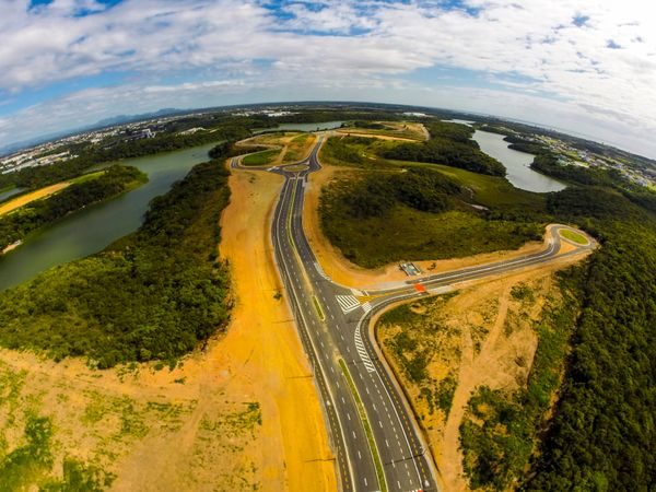 Área do Polo Empresarial Cercado da Pedra, na Serra. Crédito: Divulgação/Sedes