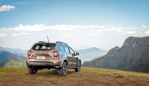 Modelo 2021 do Renault Duster lembra antecessor e tem inspiração no Jeep Renegade. Crédito: RODOLFO BUHRER