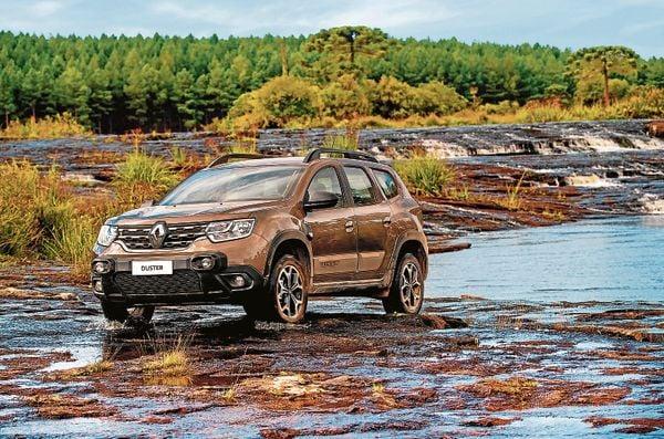 Novo Renault Duster mantém conforto até em situações off-road. Crédito: Renault/divulgação