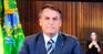 Presidente Jair Bolsonaro em comunicado oficial. Crédito: Reprodução